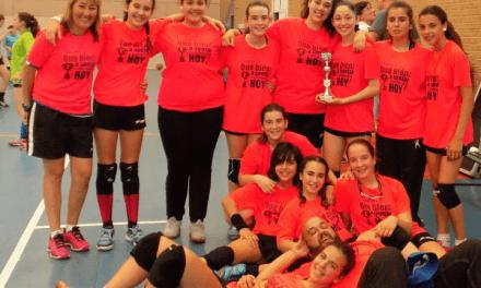 Mayo copero para Bm Morvedre: el Senior B y el Infantil A campeones de la Copa Federación