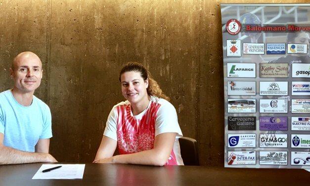 Anabel Mateo continuará en el Balonmano Morvedre la próxima temporada
