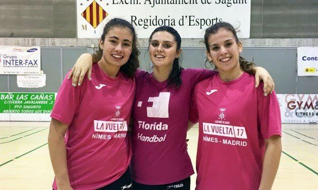 El Balonmano Morvedre aporta 3 jugadoras a la Selección de España junior femenina