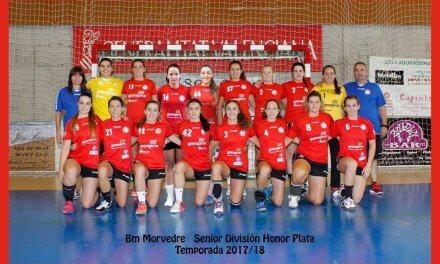 Las jugadoras del BM Morvedre siguen invictas tras 5 partidos en la Liga División de Honor Plata