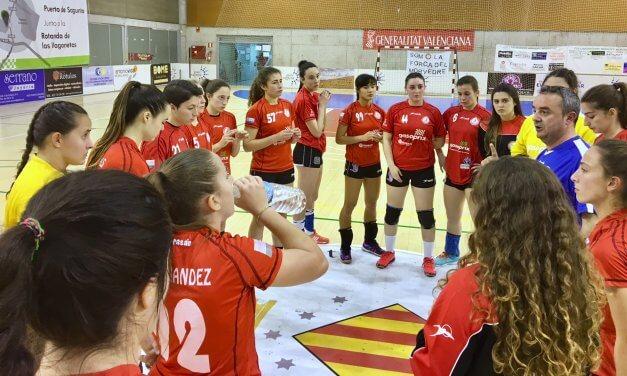 Suma y sigue del Balonmano Morvedre en la División de Honor Plata del balonmano femenino español