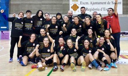 El BM Morvedre campeón de la División de Honor Plata del balonmano femenino español