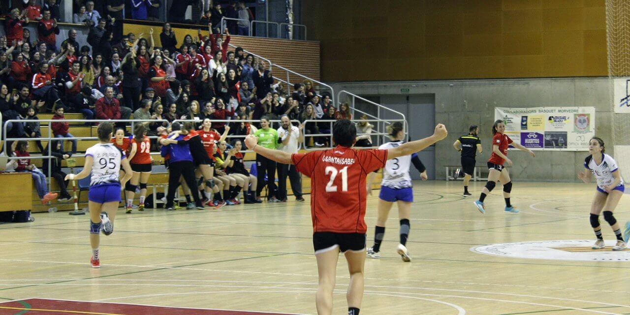 Gran partido, el Bm Morvedre y el Handbol Mislata jugarán en el René Marigil