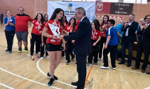 Subcampeonas Comunitat Valenciana en categoría infantil femenina