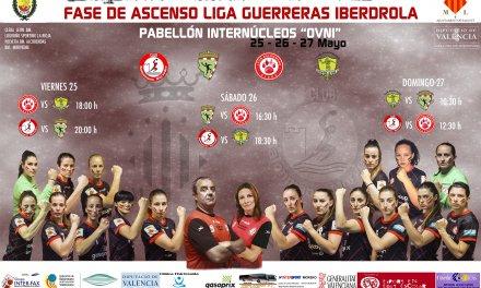 Cartel oficial y horarios ascenso a la Liga Guerreras Iberdrola 18/19