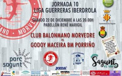 Vuelve la liga de las guerreras al Rene Marigil y la presentación de los equipos del Bm. Morvedre.