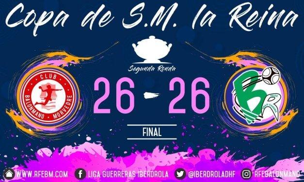 Un combativo Bm. Morvedre logra el empate contra el histórico Rocasa Gran Canaria.