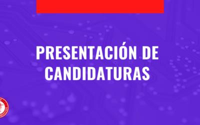 PRESENTACIÓN DE CANDIDATURAS