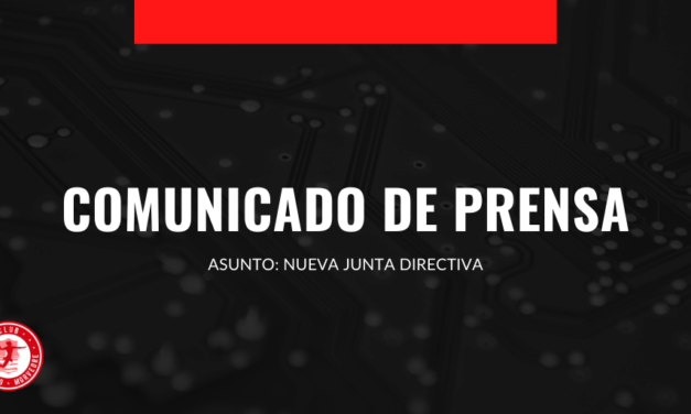 Nota de prensa: Nueva Junta Directiva
